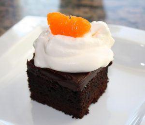 Blood Orange Ganache Cake