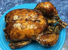 Roast Chicken Provencal