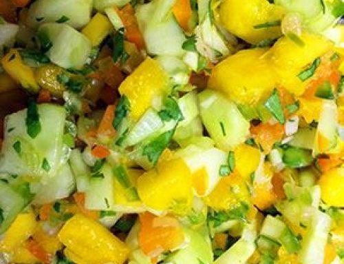 Mango Salsa with Jalapeño Balsamic