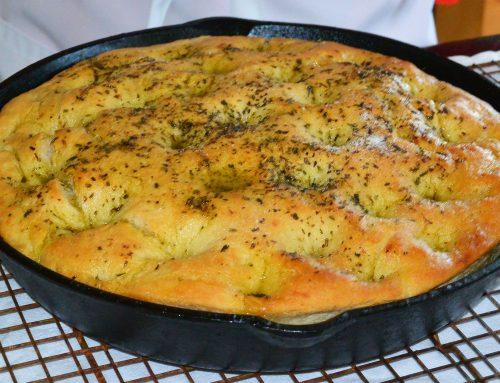 Focaccia Bread (In-a-Flash)