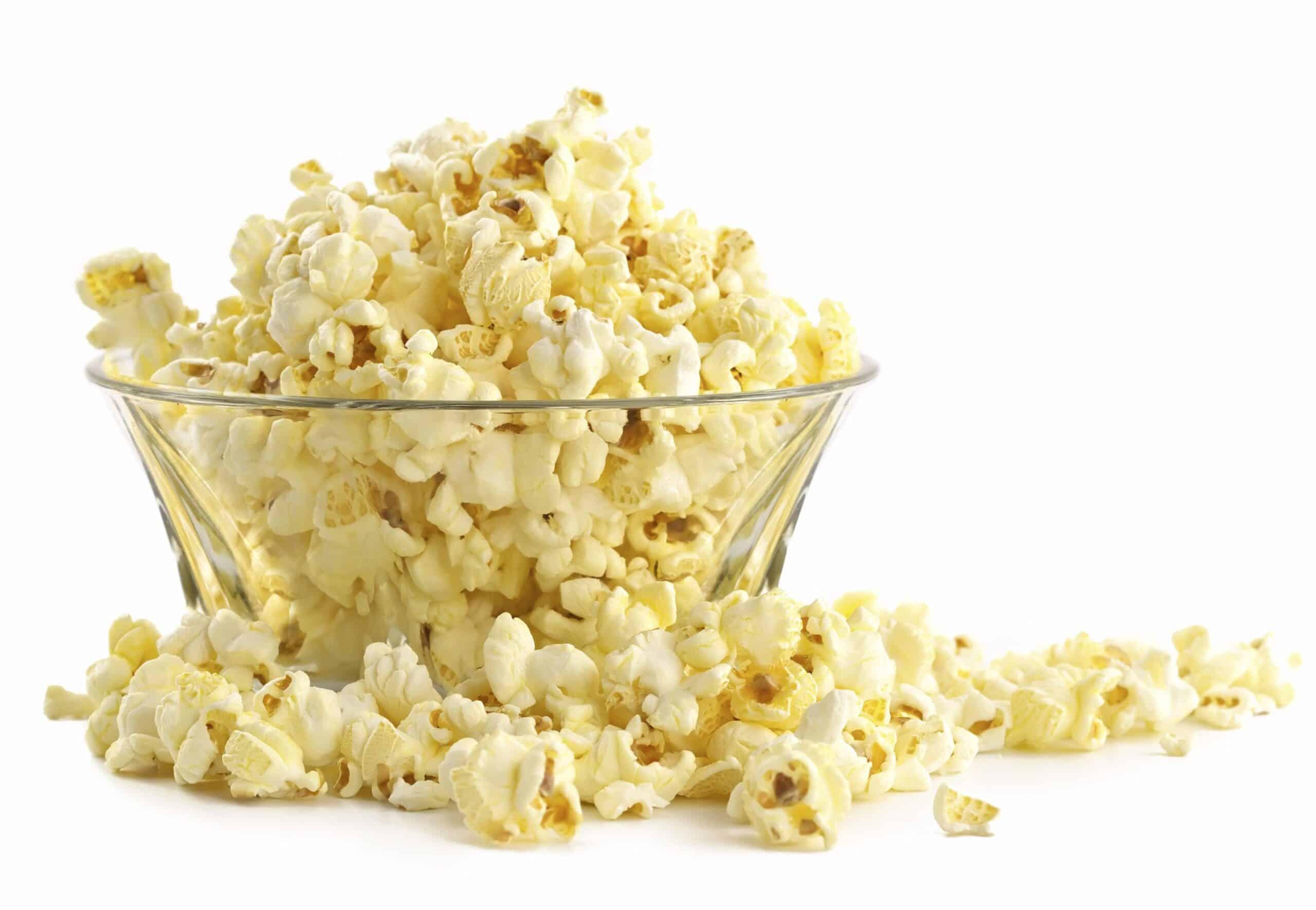 Perfect Olive Oil Popcorn