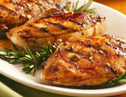 Balsamic-Glazed Grilled Chicken