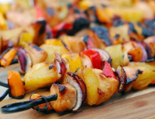Hawaiian-Style Chicken Kabobs