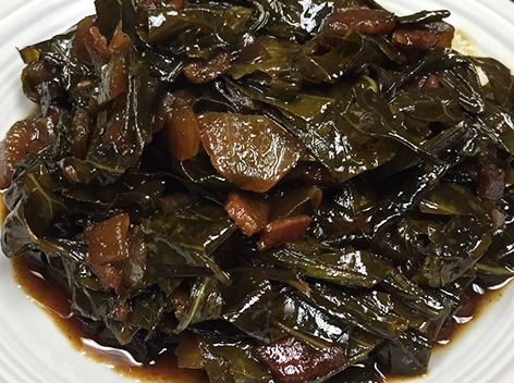 Collard Greens with Maple Balsamic inspired by Elevin restaurant