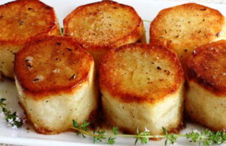 Creamy Fondant Potatoes