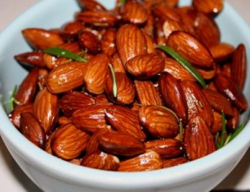 Smoky Almonds Roasted