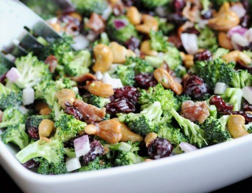 Balsamic Broccoli Salad