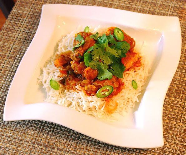 Spicy Fiji Curry Chicken