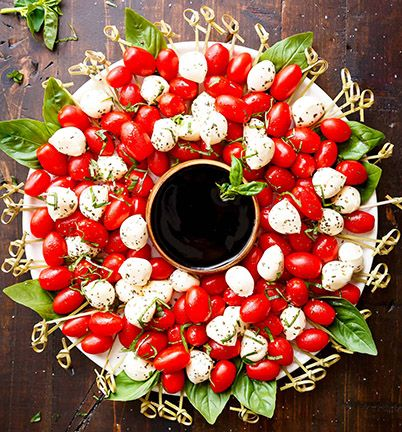 Caprese Christmas Balsamic Recipe