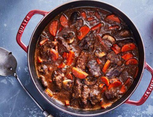 Balsamic Dijon Beef Stew