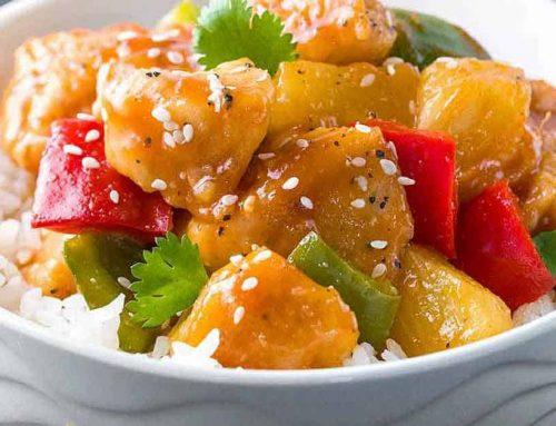 Yum Yum Sweet & Sour Chicken