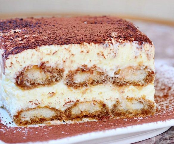 Real and Authentic Espresso Balsamic Tiramisu