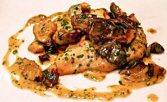 Chicken Marsala with Milanese Gremolata Olive oil