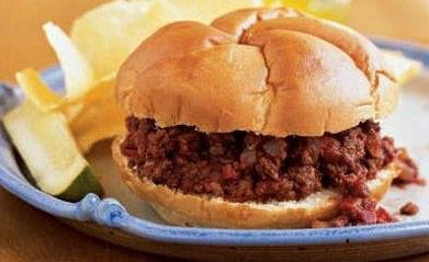 Sloppy Joes with Olive Oil and Balsamic