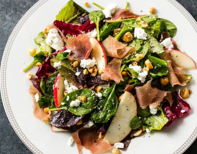 Olive Oil and Balsamic Seasonal Salads