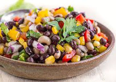 healthy snacks cowboy caviar olive oil