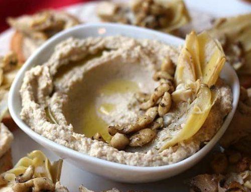 Artichoke Heart Hummus