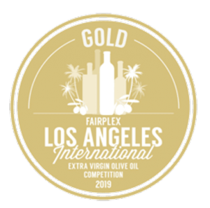 Gold Medal Winner Los Angeles International Olive Oil Competition