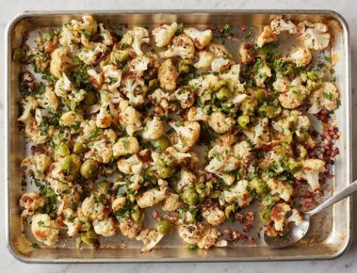 Tuscan Roasted Cauliflower