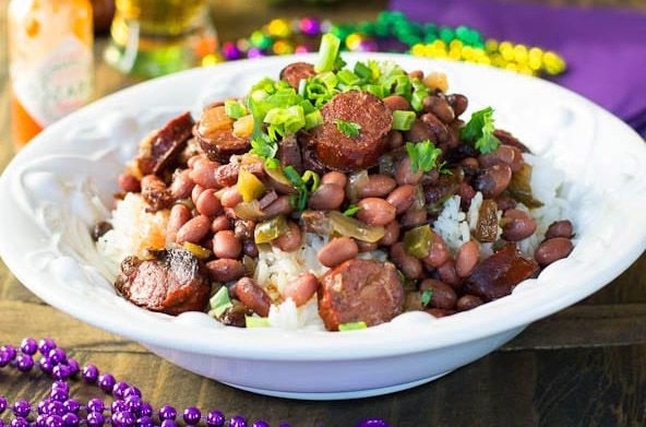 Olive Oil Red beans and rice